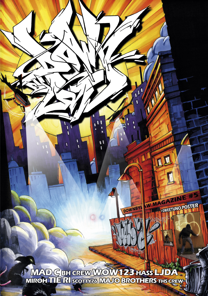downbylaw_magazine_5_cover_graffiti