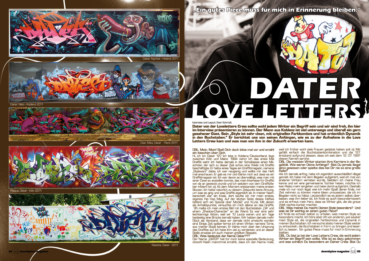 downbylaw_magazine_9_dater_loveletters_graffiti