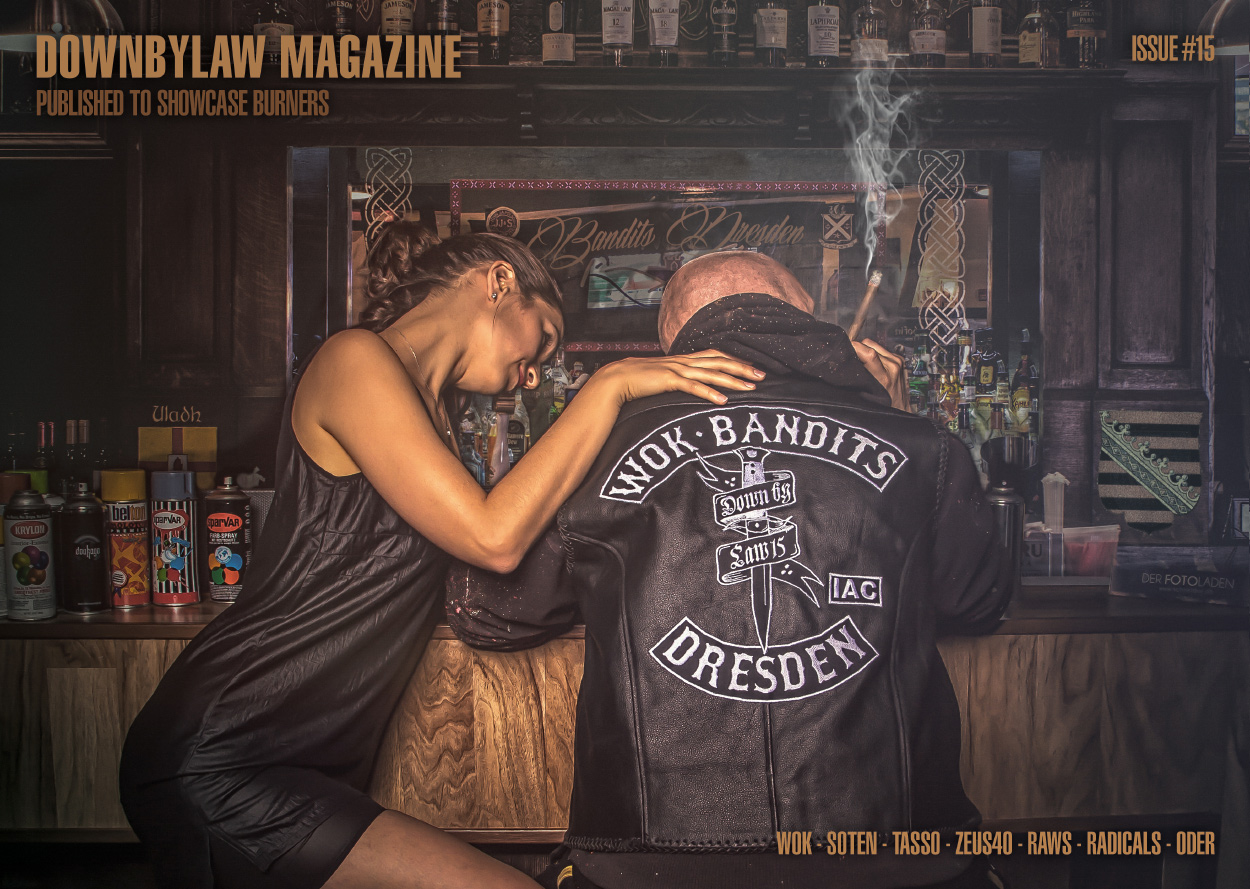 Downbylaw Magazine #15 - Cover Preview